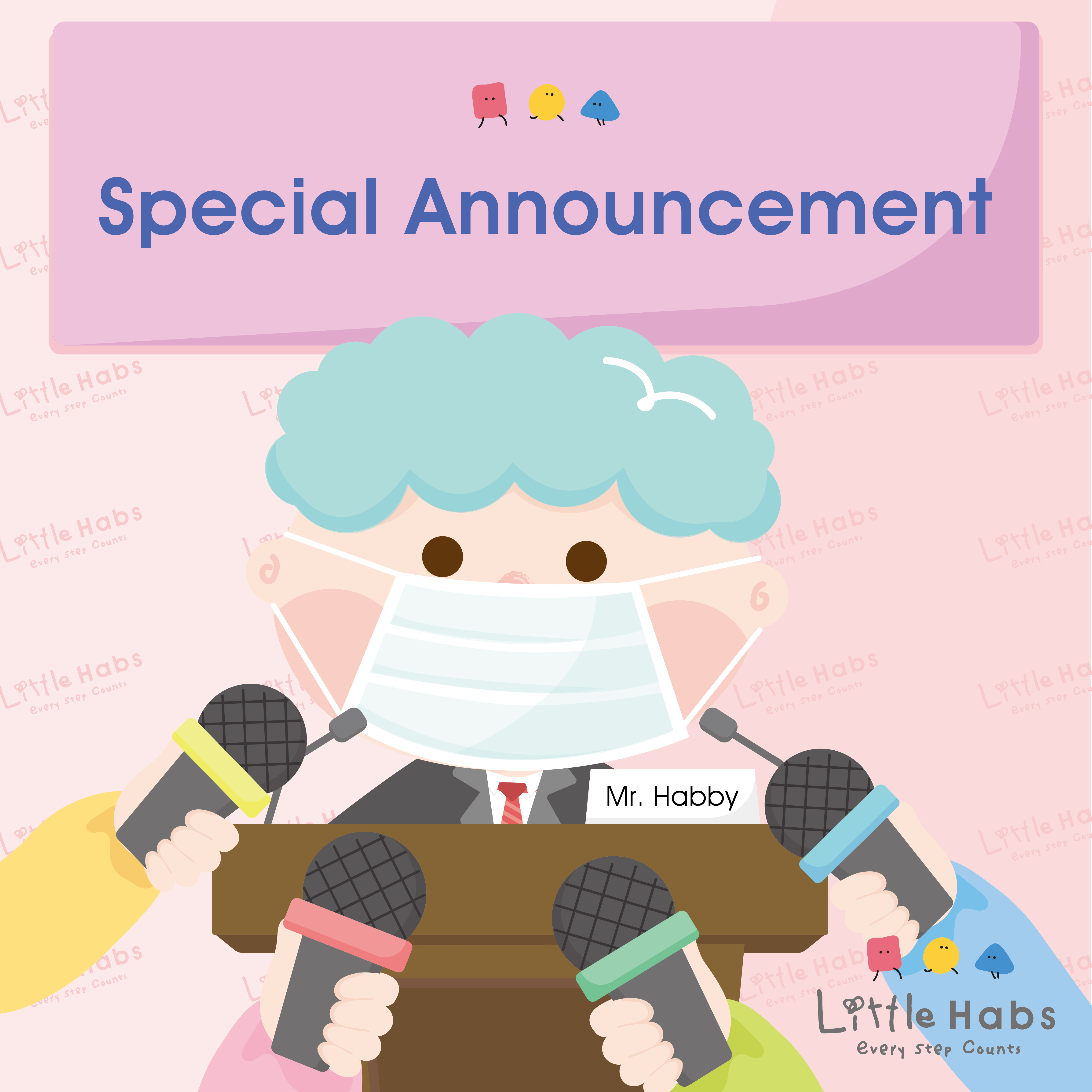 Special Announcement